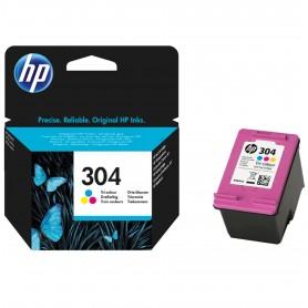 HP 304 TRI-COLOR INK CARTRIDGE
