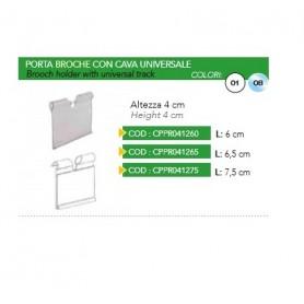 PORTA BROCHE C/CAVA UNIV. 65MM