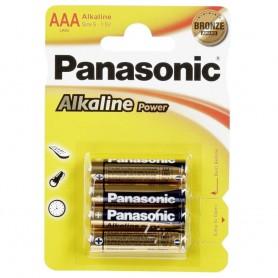 PANASONIC MINI STILO AAA ALKALINE BL. 4