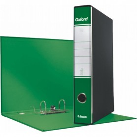 REGISTRATORE OXFORD G84 D5 VERDE