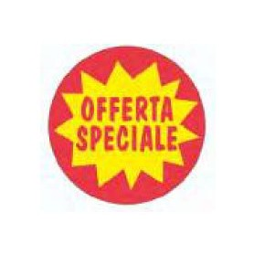 OFFERTA SPECIALE ETICH. DIAM.40 PZ.1000