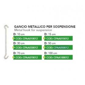 GANCIO METALLICO SOSPENSIONE H50