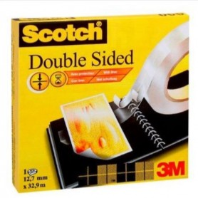 SCOTCH 665/126D BIADESIVO 12X33