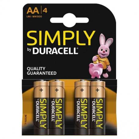 DURACELL SIMPLY STILO AA ALKALINE B